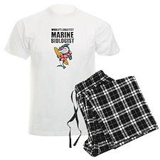 Worlds Greatest Marine Biologist Pajamas