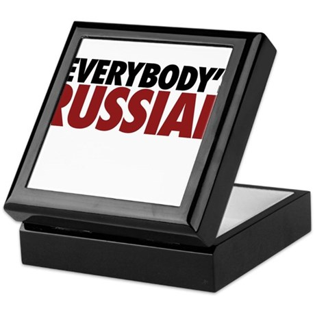 everybodys russian Keepsake Box