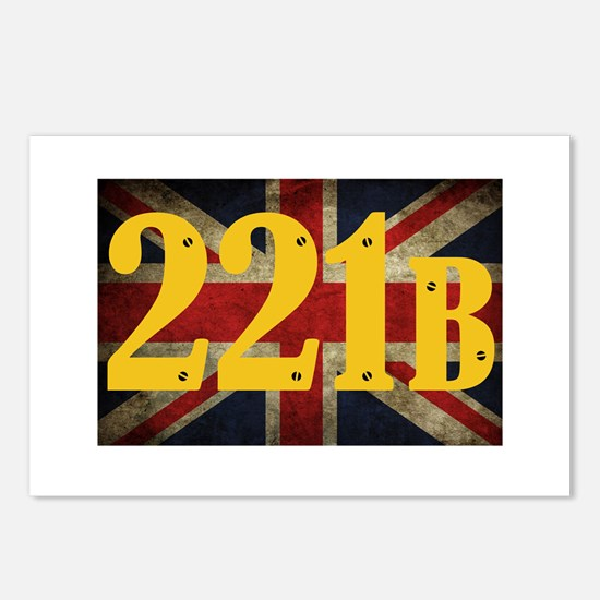 221B Flag Postcards (Package of 8)