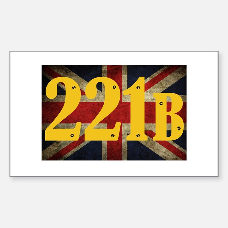 221B Flag Decal