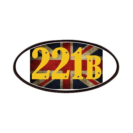 221B Flag Patches