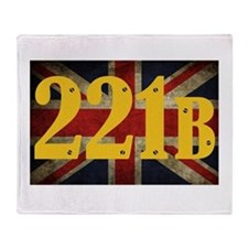 221B Flag Throw Blanket