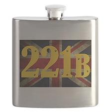 221B Flag Flask