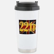 221B Flag Travel Mug