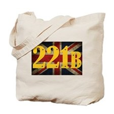 221B Flag Tote Bag