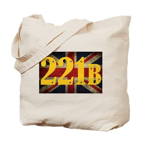 221B Flag Tote Bag