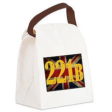 221B Flag Canvas Lunch Bag