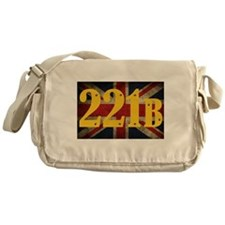 221B Flag Messenger Bag