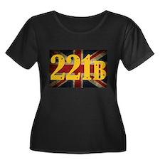 221B Flag Plus Size T-Shirt