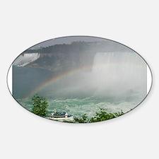 Niagara Falls Oval Decal