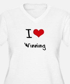 I love Winning Plus Size T-Shirt