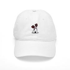 Mahogany Brittany Baseball Cap