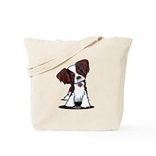 Mahogany Brittany Tote Bag