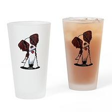 Mahogany Brittany Drinking Glass