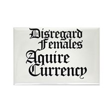 Disregard females acquire currency Rectangle Magne