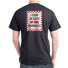 Two Sided Look On Back T-Shirt