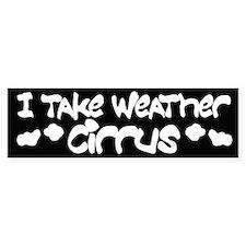 Funny Cloud Bumper Bumper Sticker
