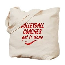 Volleyball Coaches Tote Bag