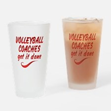 Volleyball Coaches Drinking Glass