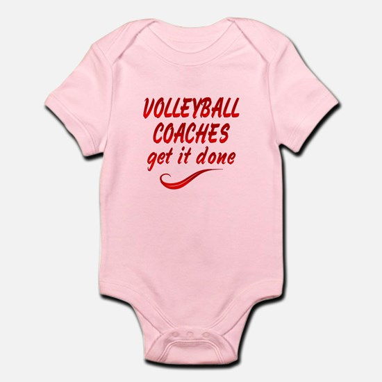 Volleyball Coaches Infant Bodysuit