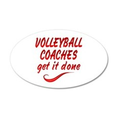 Volleyball Coaches Wall Decal