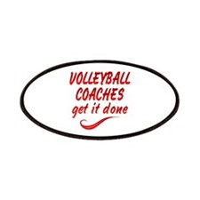 Volleyball Coaches Patches