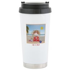 Summer~Life Is Good Travel Mug