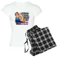If Rosie Can Do It Sarcoidosis pajamas