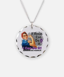 If Rosie Can Do It Sarcoidosis Necklace
