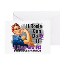 If Rosie Can Do It Sarcoidosis Greeting Card