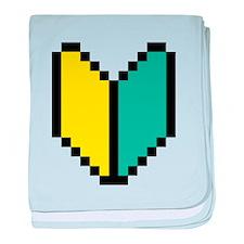 Pixel Wakaba / Shoshinsha Mark baby blanket
