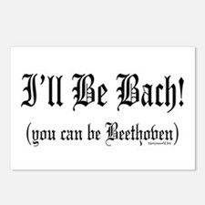 I'll Be Bach... Postcards (Package of 8)