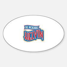 The Incredible Kelvin Decal