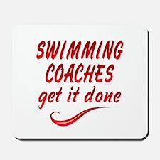 Swimming Coaches Mousepad