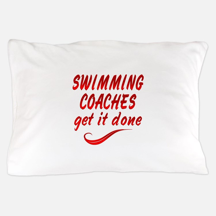 Swimming Coaches Pillow Case