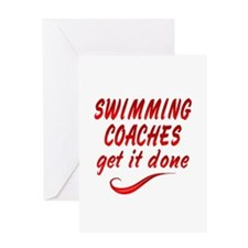 Swimming Coaches Greeting Card
