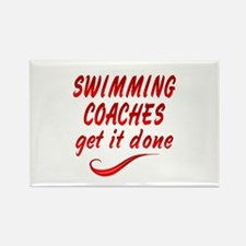 Swimming Coaches Rectangle Magnet (10 pack)