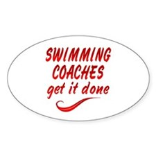 Swimming Coaches Decal