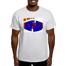 Kevin's Baby Mama Ash Grey T-Shirt