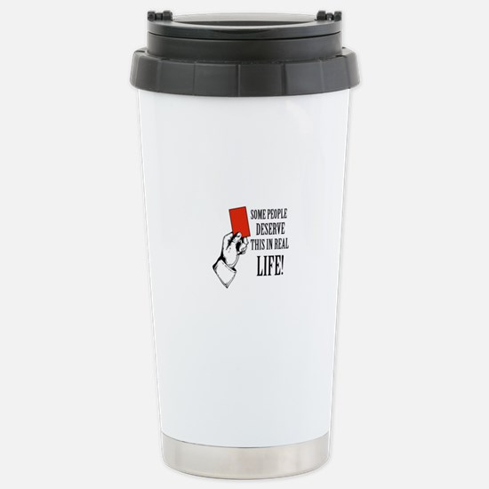 Funny Designs Stainless Steel Travel Mug