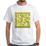 vineyard leaves tapestry square T-Shirt