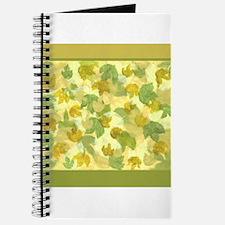 vineyard leaves tapestry square Journal
