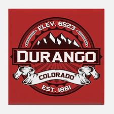 Durango Red Tile Coaster