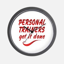 Personal Trainers Wall Clock