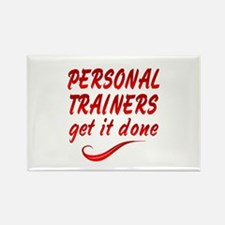 Personal Trainers Rectangle Magnet