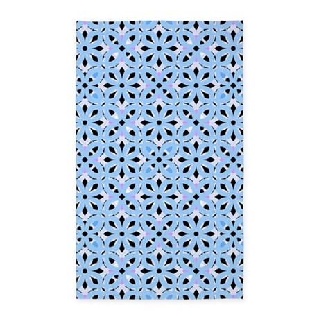 Mix #282, Blue 3'x5' Area Rug