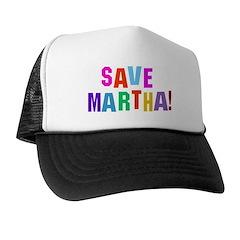 Save Martha Retro Trucker Hat