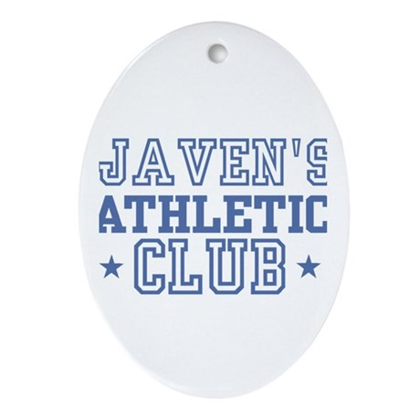 Javen Oval Ornament