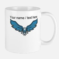 Custom Blue Bird Mascot Mug