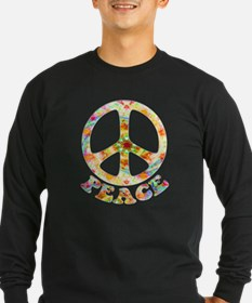Painted Peace Symbol T